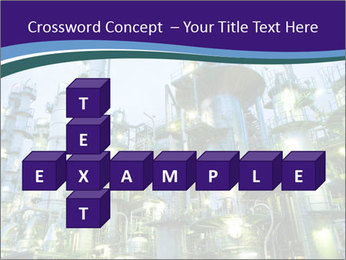 Petrochemical plant PowerPoint Template - Slide 82