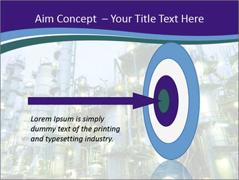 Petrochemical plant PowerPoint Template - Slide 83