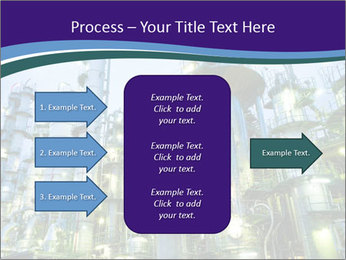 Petrochemical plant PowerPoint Template - Slide 85