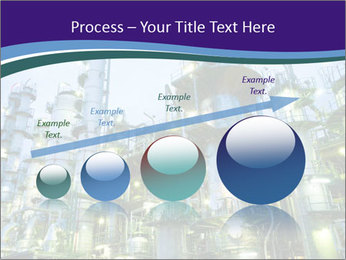 Petrochemical plant PowerPoint Template - Slide 87