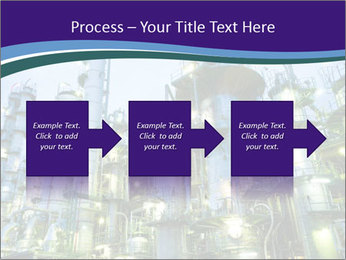 Petrochemical plant PowerPoint Template - Slide 88
