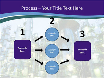 Petrochemical plant PowerPoint Template - Slide 92