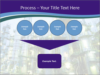 Petrochemical plant PowerPoint Template - Slide 93