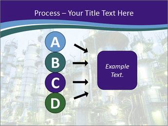 Petrochemical plant PowerPoint Template - Slide 94