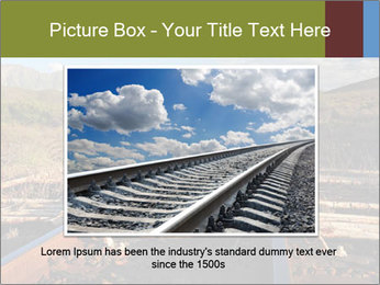 Old railroad PowerPoint Templates - Slide 15
