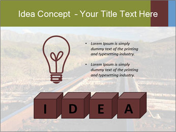 Old railroad PowerPoint Templates - Slide 80