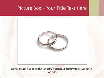 Wedding pink rose PowerPoint Templates - Slide 15