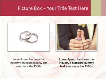 Wedding pink rose PowerPoint Templates - Slide 18