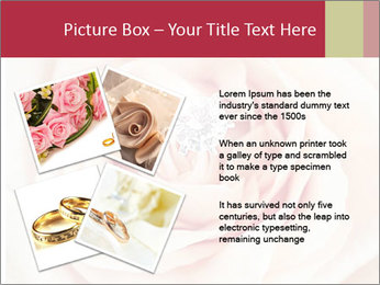 Wedding pink rose PowerPoint Templates - Slide 23