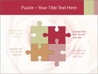 Wedding pink rose PowerPoint Templates - Slide 43