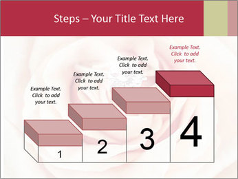 Wedding pink rose PowerPoint Template - Slide 64