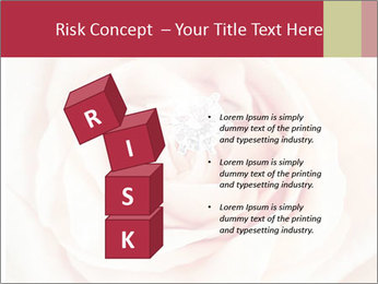 Wedding pink rose PowerPoint Templates - Slide 81