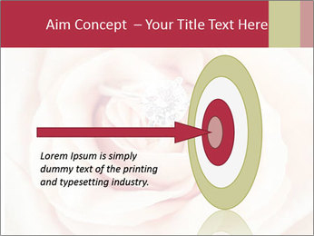 Wedding pink rose PowerPoint Template - Slide 83