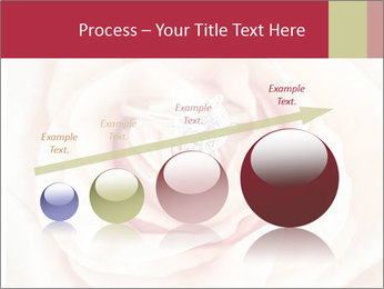 Wedding pink rose PowerPoint Template - Slide 87