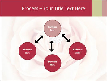 Wedding pink rose PowerPoint Templates - Slide 91