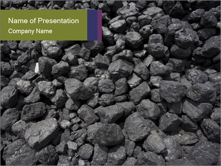 Coal PowerPoint Template