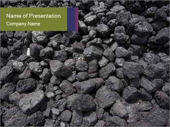 Coal PowerPoint Template - Slide 1