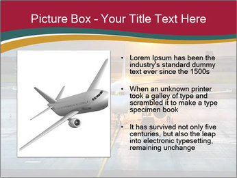 Airplane PowerPoint Template - Slide 13