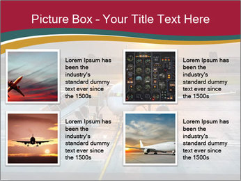 Airplane PowerPoint Templates - Slide 14