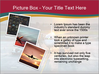 Airplane PowerPoint Templates - Slide 17
