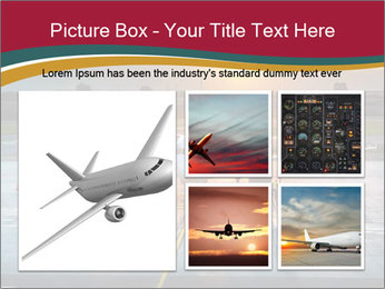 Airplane PowerPoint Templates - Slide 19