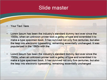 Airplane PowerPoint Template - Slide 2