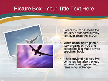 Airplane PowerPoint Templates - Slide 20