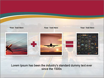 Airplane PowerPoint Template - Slide 22