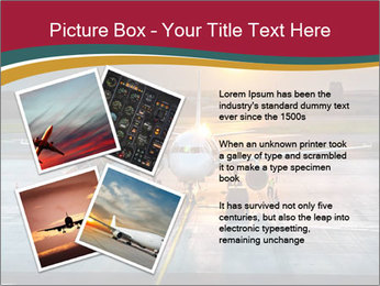 Airplane PowerPoint Templates - Slide 23