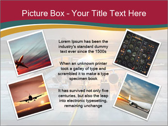 Airplane PowerPoint Template - Slide 24