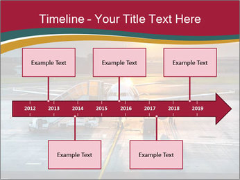 Airplane PowerPoint Templates - Slide 28