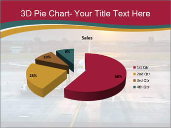 Airplane PowerPoint Templates - Slide 35