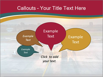 Airplane PowerPoint Templates - Slide 73