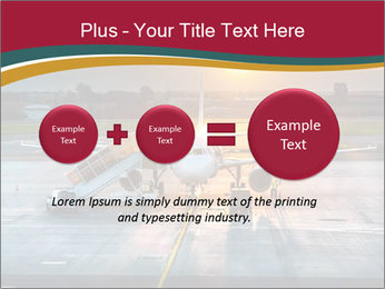 Airplane PowerPoint Templates - Slide 75