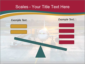 Airplane PowerPoint Template - Slide 89