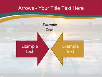 Airplane PowerPoint Templates - Slide 90