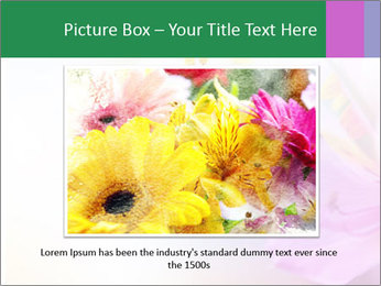 Flowers with color filters PowerPoint Templates - Slide 15