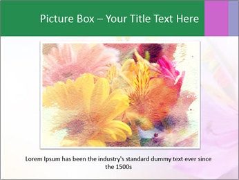 Flowers with color filters PowerPoint Templates - Slide 16