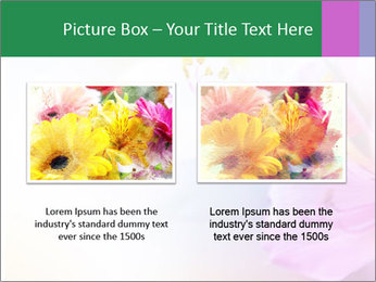 Flowers with color filters PowerPoint Templates - Slide 18