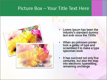 Flowers with color filters PowerPoint Templates - Slide 20