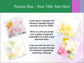 Flowers with color filters PowerPoint Templates - Slide 24