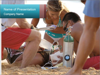 A world class big wave surfer PowerPoint Templates - Slide 1