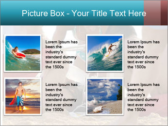 A world class big wave surfer PowerPoint Templates - Slide 14