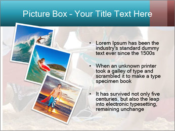 A world class big wave surfer PowerPoint Templates - Slide 17