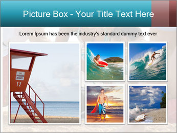 A world class big wave surfer PowerPoint Templates - Slide 19