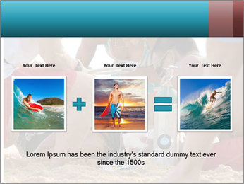 A world class big wave surfer PowerPoint Templates - Slide 22