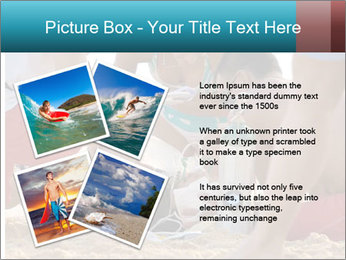 A world class big wave surfer PowerPoint Templates - Slide 23