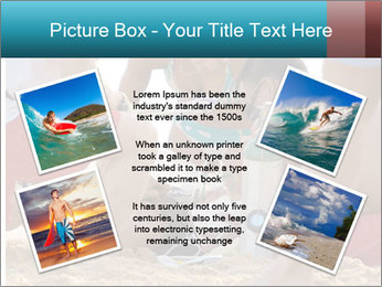 A world class big wave surfer PowerPoint Templates - Slide 24