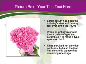 Bouquet flowers PowerPoint Templates - Slide 13