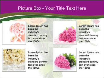 Bouquet flowers PowerPoint Templates - Slide 14